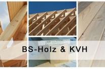 BS-Holz und Konstruktionsvollholz